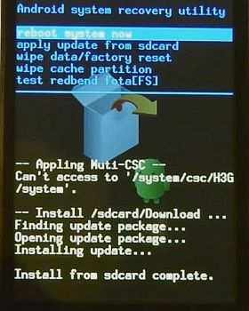 Root Samsung Galaxy Fit using Update 2