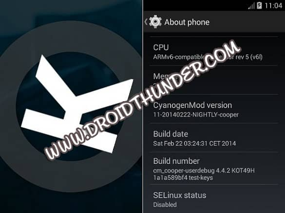 Install Android 4.4.2 KitKat ROM on GT-S5830