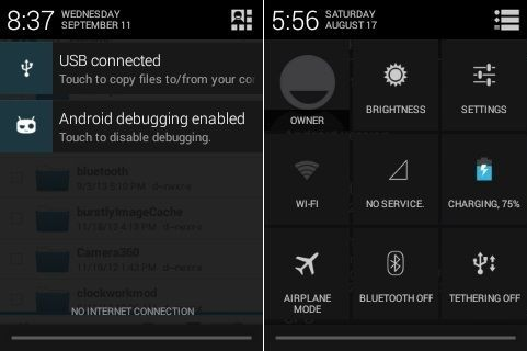 Install CM 10.2 ROM Android 4.3 on Galaxy Mini Pop S5570 screenshot 3