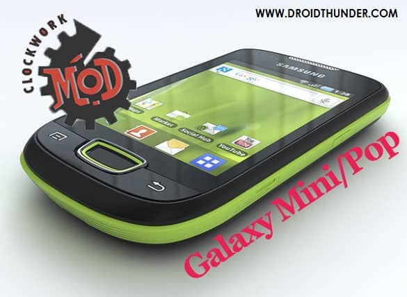 Root Samsung Galaxy Mini and Install CWM Recovery