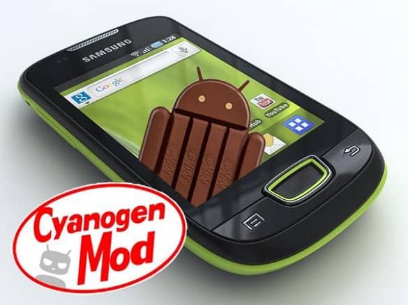 Samsung Galaxy Mini Pop S5570 Android 4.4.3 KitKat CM 11 ROM