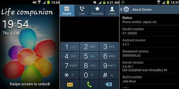Install TouchWiz Resurrection ROM on Galaxy Ace S5830I