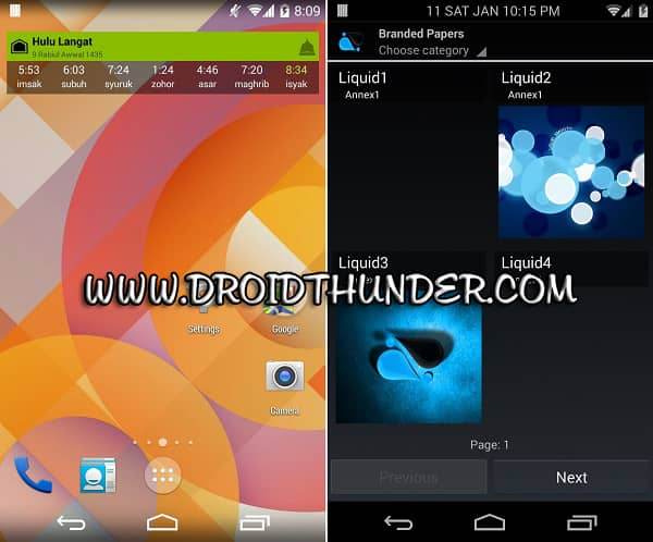 Samsung Galaxy Grand Duos GT-I9082 Android 4.4 Liquid Smooth ROM