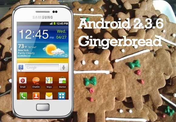 Samsung Galaxy Ace Plus S7500 Android 2.3.6 Gingerbread DDMF2 Stock Firmware