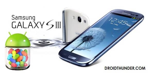 Samsung Galaxy S3 GT-i9300T Android 4.3 Jelly Bean DUUGNA4 Stock Firmware