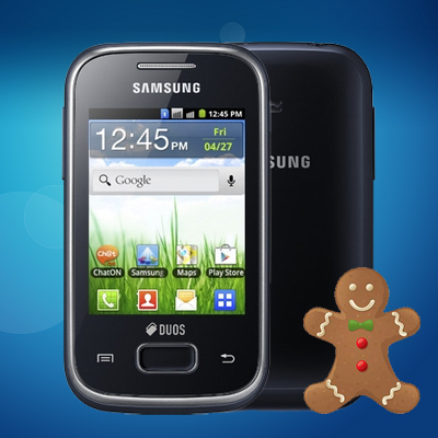 Update Galaxy Pocket Duos/Y duos lite S5302 to 2 3 6