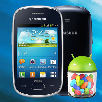 Galaxy Star Duos - Official Android 4 1 2 Jelly Bean