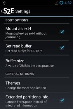 Expand Android mobile storage using S2E app 5