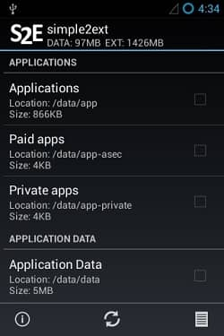 Expand Android mobile storage using S2E app 6