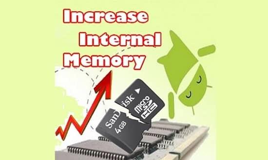 Increase Internal Memory of Android Phone