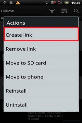 Increase Internal Storage using Link2SD and CWM 8