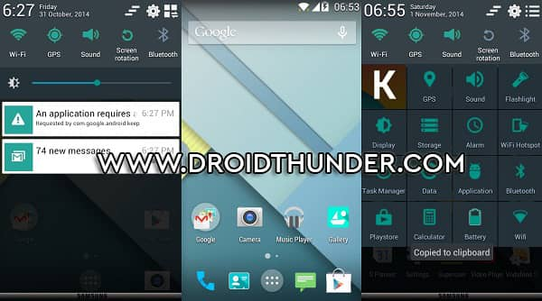 Flash Android 5.0 Lollipop custom ROM on Galaxy Core GT-I8262