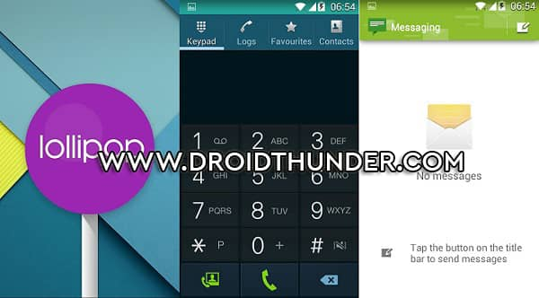 Install Android 5.0 Lollipop ROM on Samsung Galaxy Core screenshot