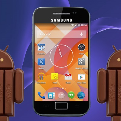 Update Galaxy Ace S5830i to Android 4 4 3 KitKat ROM (with