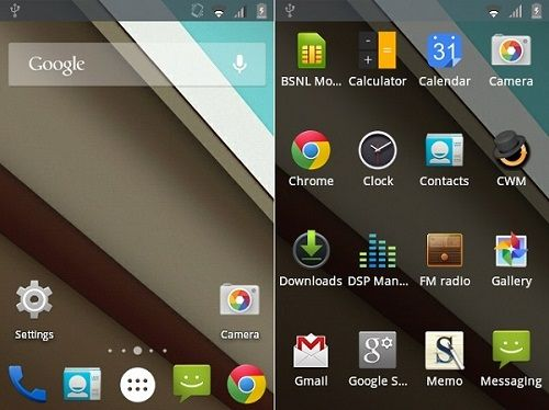 Samsung Galaxy Ace GT-S5830 Android 5.0 Lollipop ROM screenshot 1