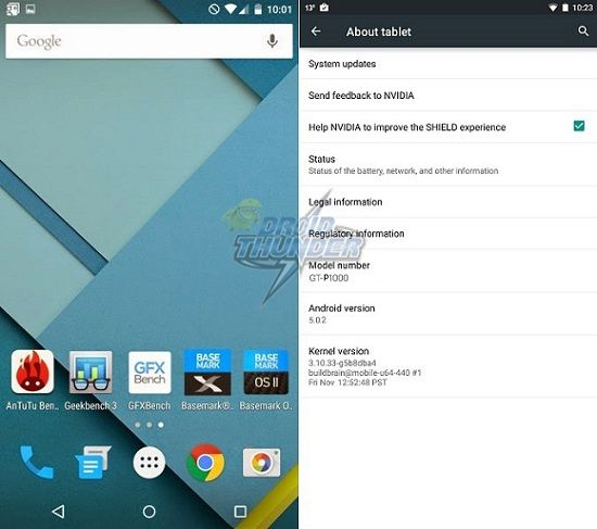 Install Android 5.0.2 Lollipop ROM on Galaxy Tab P1000 1