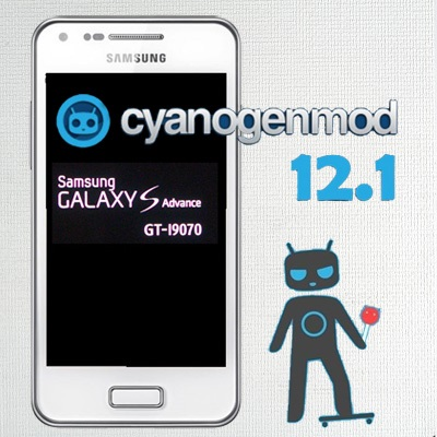 Install Android 5 1 1 Lollipop CM12 1 on Galaxy S Advance I9070