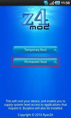 Root Samsung Galaxy Tab using Doomlords Toolkit 2