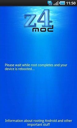 Root Samsung Galaxy Tab using z4Root app 2