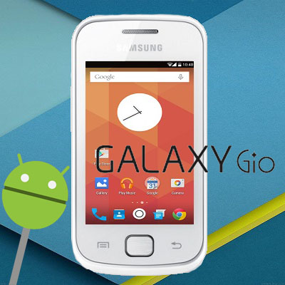 Galaxy Gio GT-S5660 - Install Android Lollipop Themed ROM
