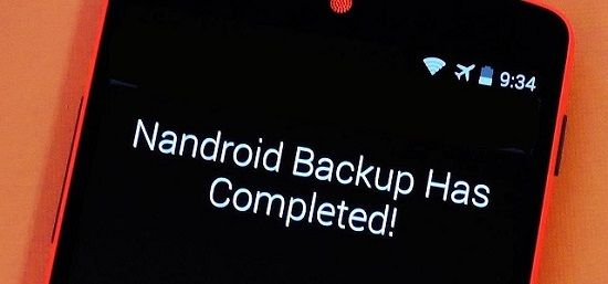 How to take Nandroid backup without ROOT