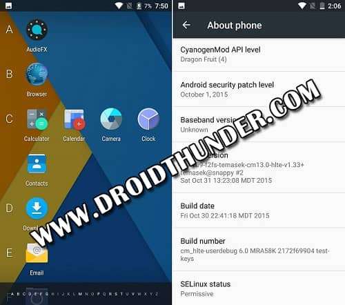 Samsung Galaxy Note 3 N9005 Android 6.0 ROM