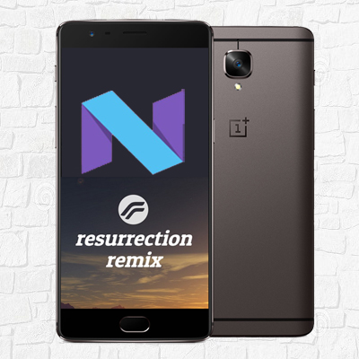 Install Android 7 1 1 Nougat on One Plus 3 (Resurrection Remix ROM)