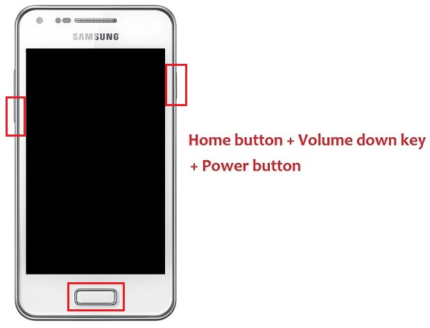 Samsung Galaxy S Advance i9070 Android 4.1.2 firmware boot download mode