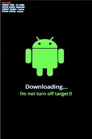 Samsung Galaxy S Advance i9070 Android 4.1.2 firmware downloading mode 2
