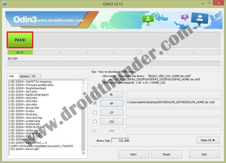i9070 Android 4.1.2 firmware odin tool 5