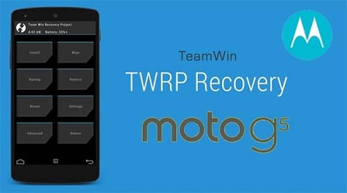 Root Moto G5 and Install TWRP recovery