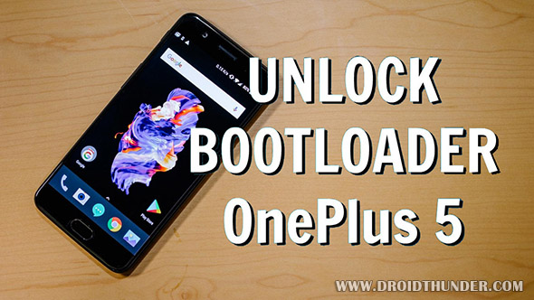 Unlock Bootloader One Plus 5