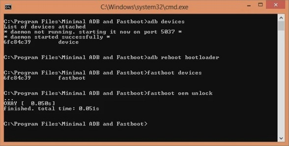 Unlock Bootloader OnePlus 5 using ADB and Fastboot screenshot 10