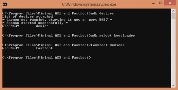 Unlock Bootloader OnePlus 5 using ADB and Fastboot screenshot 8
