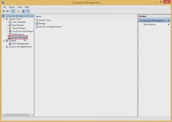 Computer Management Device Manager 1