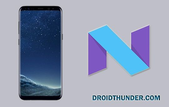 Samsung Galaxy S8+ Android 7.0 Nougat Update