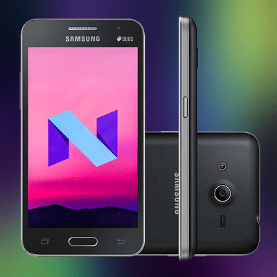 Install Android 7 0 Nougat ROM on Galaxy Core 2 SM-G355H