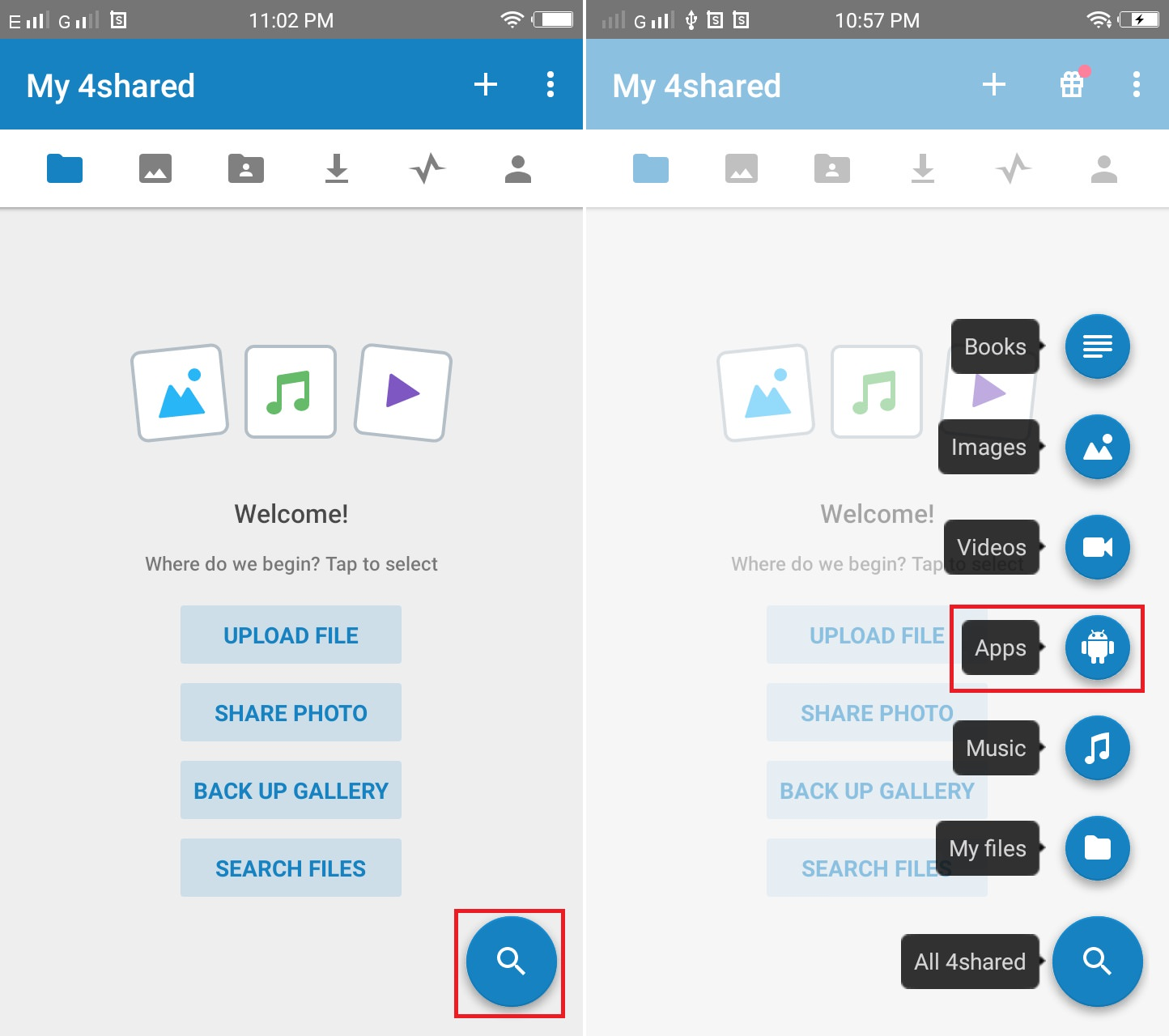 Download Paid Apps for free using 4shared App screenshot 2