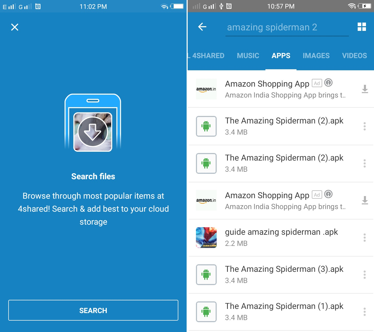 Download Paid Apps for free using 4shared App screenshot 3