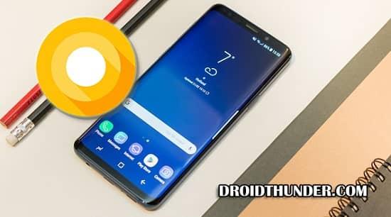 Samsung Galaxy S9 Android 8.0.0 G960FXXU1ARCC