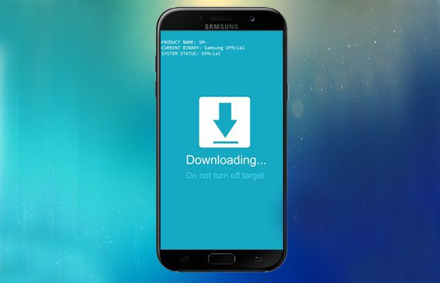 How to Boot Galaxy A7 2017 into Download Mode