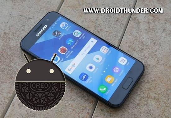 Samsung Galaxy A5 2017 Android 8.0.0 Oreo XXU4CRE8