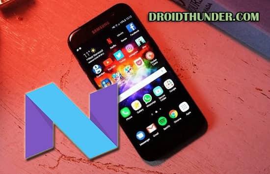Samsung Galaxy A5 SM-A520F Android 7.0 XXS2BQK7 Firmware