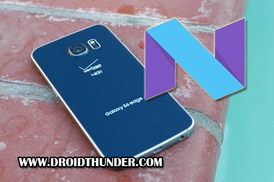 Samsung Galaxy S6 Edge SM-G925R6 Android 7.0 Nougat Firmware