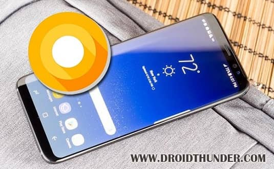 Samsung Galaxy S8 Android 8.0.0 Oreo XXU2CRED Firmware