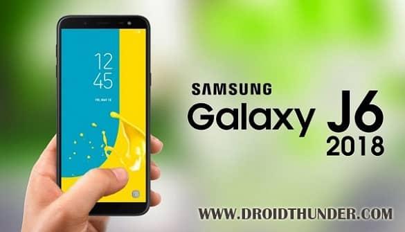 Samsung Galaxy J6 SM-J600G Android 8.0.0 Oreo DXU1ARE9 Firmware