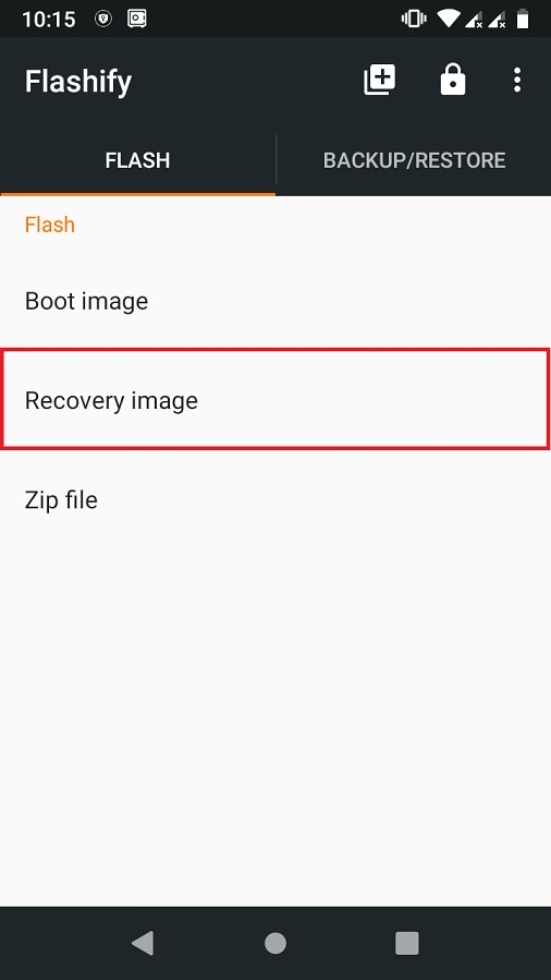 Error Executing Updater Binary In Zip using Flashify screenshot 3