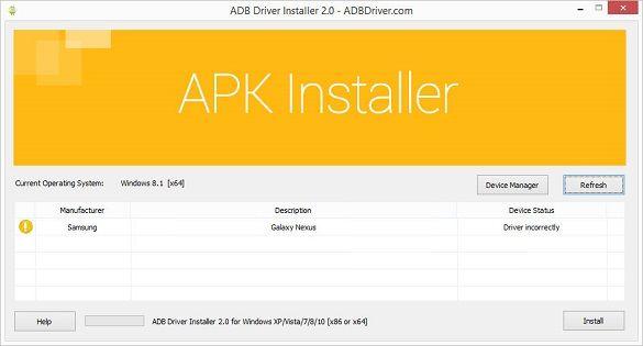 ADB Driver Installer 1
