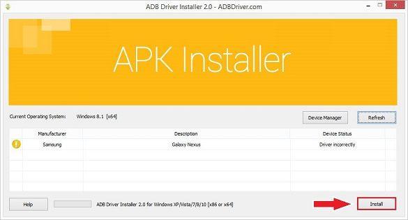 ADB Driver Installer 2
