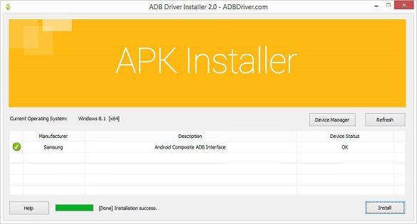 ADB Driver Installer 4